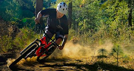 biking front